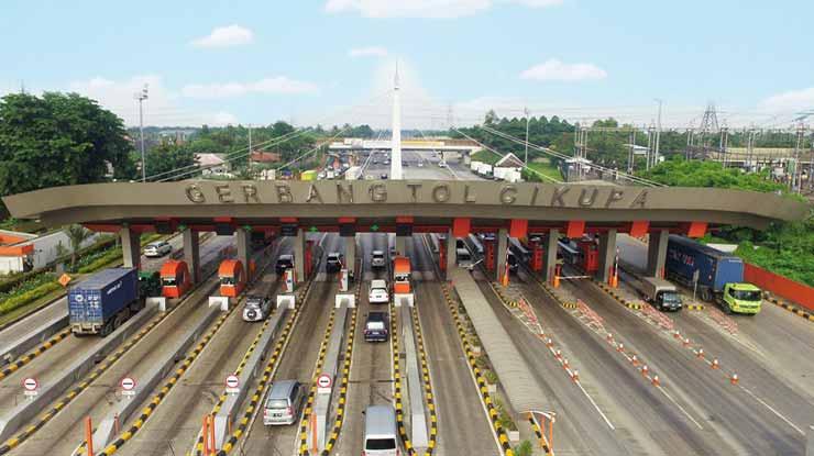 Gerbang Tol Tangerang Merak
