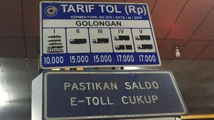 Golongan Jenis Kendaraan Untuk Tol