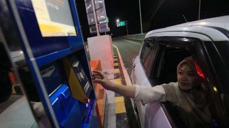 Pembayaran Tol Balikpapan Samarinda