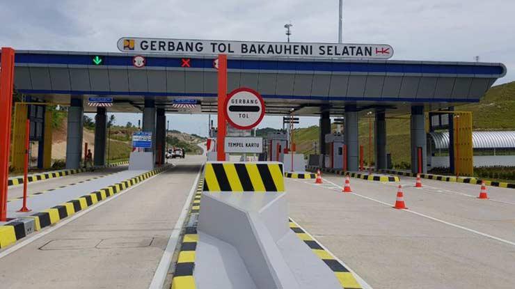Sistem Pembayaran Tol Lampung