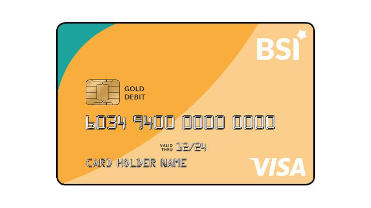 ATM VISA Gold Bank Syariah Indonesia