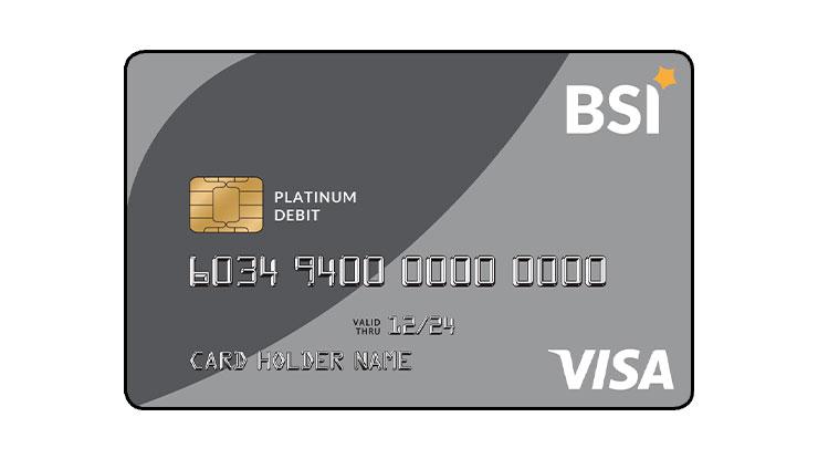 ATM VISA Platinum Bank Syariah Indonesia