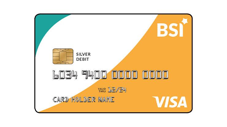 ATM VISA Silver Bank Syariah Indonesia