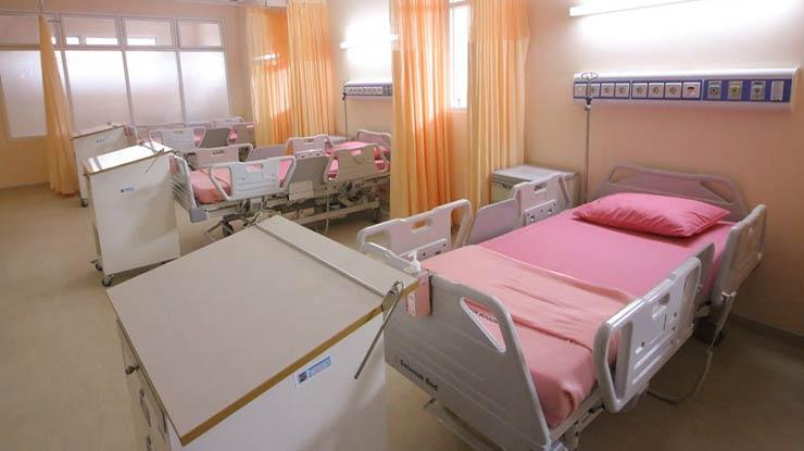 Ruangan Kamar Rawat Inap RSUD Kota Bogor