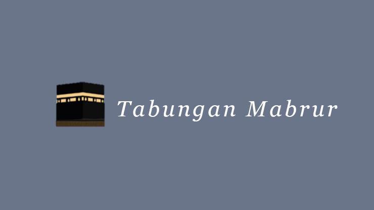 Tabungan Mabrur 1