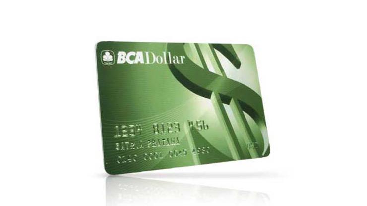 ATM Dollar BCA