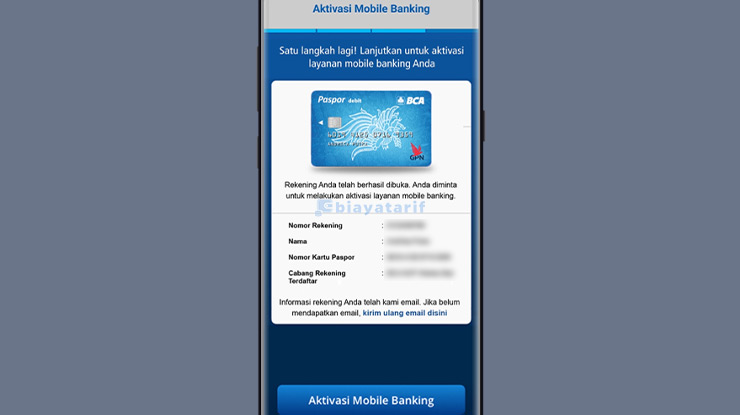 Aktivasi Mobile Banking BCA