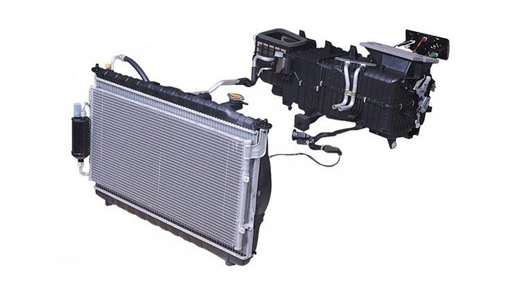 Komponen AC Mobil Pick Up