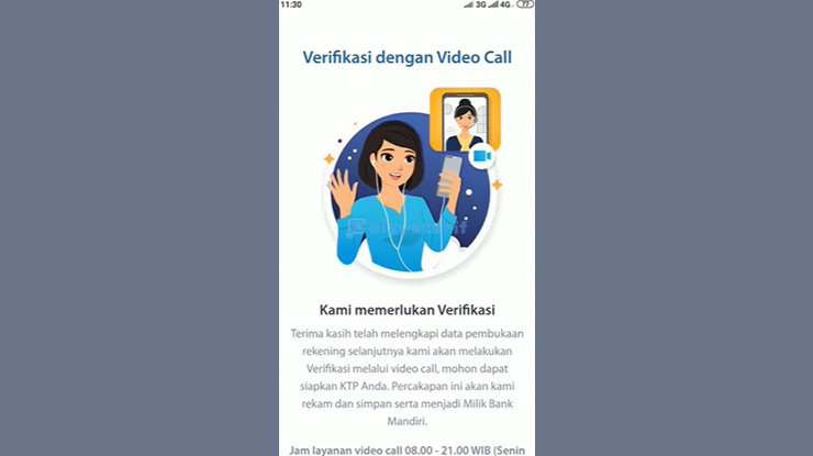 Verifikasi Video Call