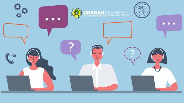 Call Center Universitas Baiturrahmah Padang
