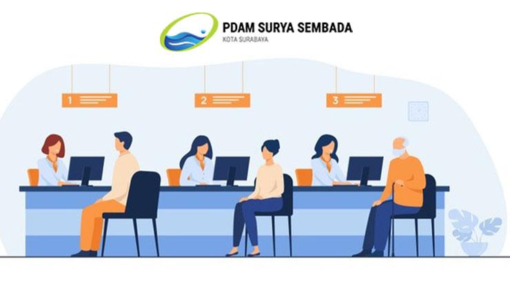 Cara Bayar Biaya Pasang Baru PDAM Surabaya 2021