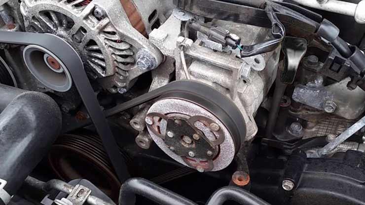 Dampak Oli Kompresor AC Mobil Kurang