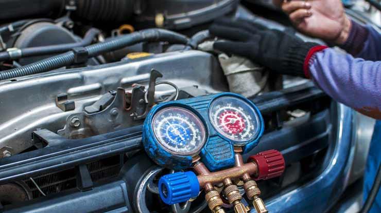 Rincian Biaya Ganti Oli Kompresor AC Mobil