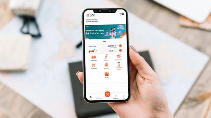 Transfer via Mobile Banking